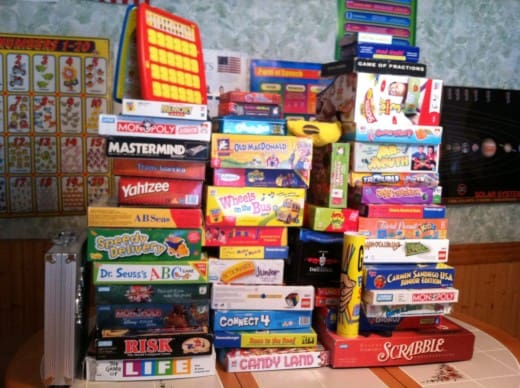 Board Games Miscellaneous